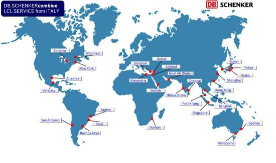 Ocean Scheduling   DB Schenker
