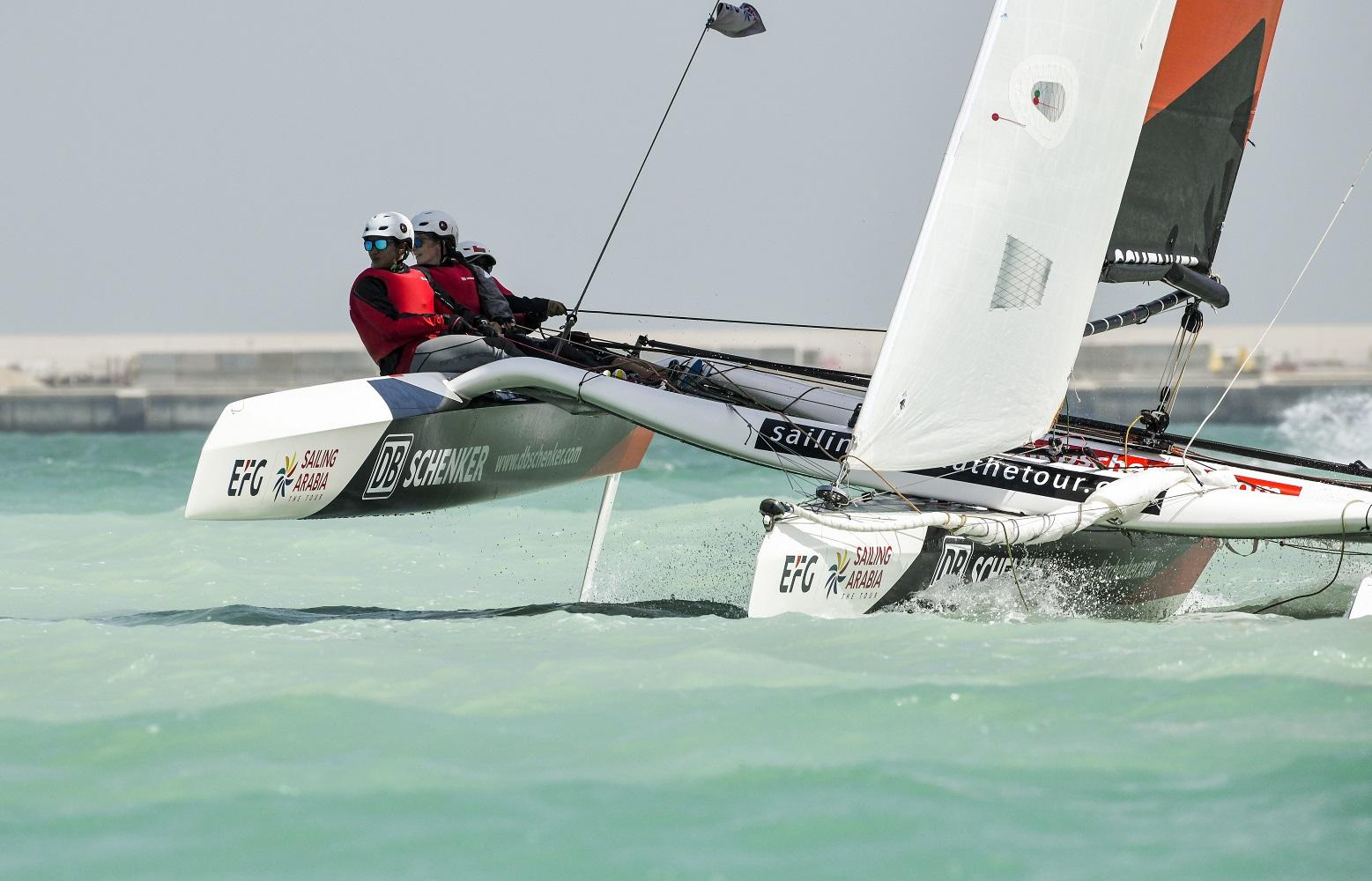 EFG Sailing Arabia - The Tour