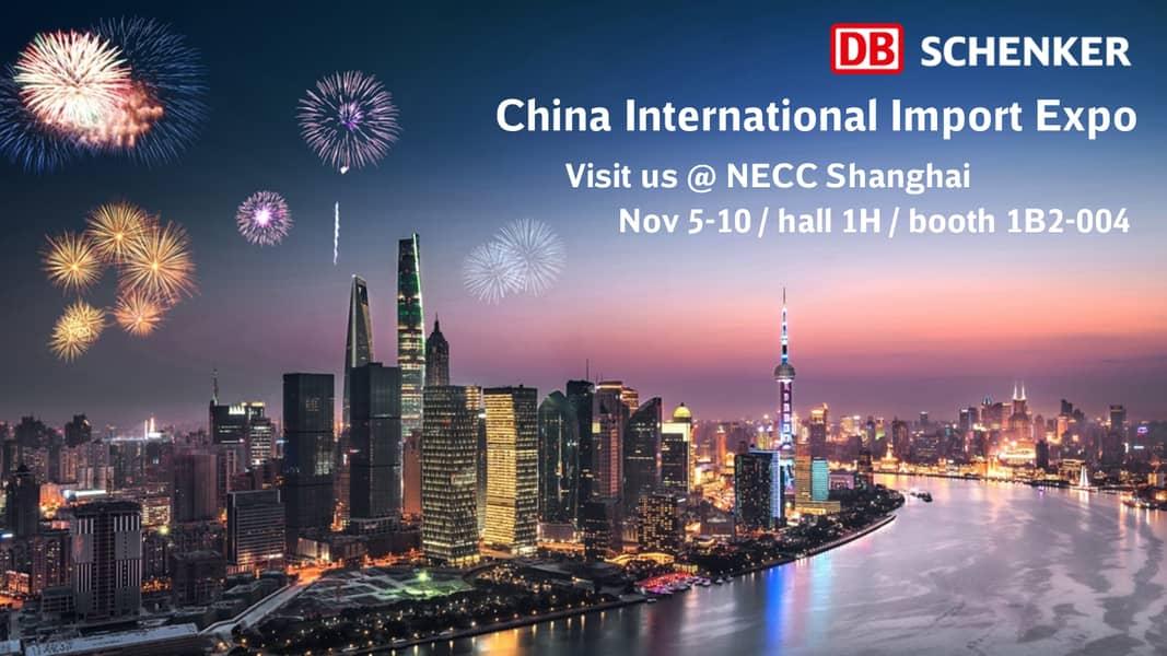China International import Expo DB Schenker