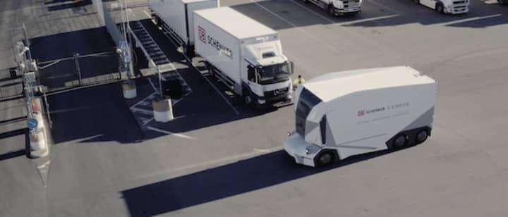 dbschenker T-pod autonomous truck