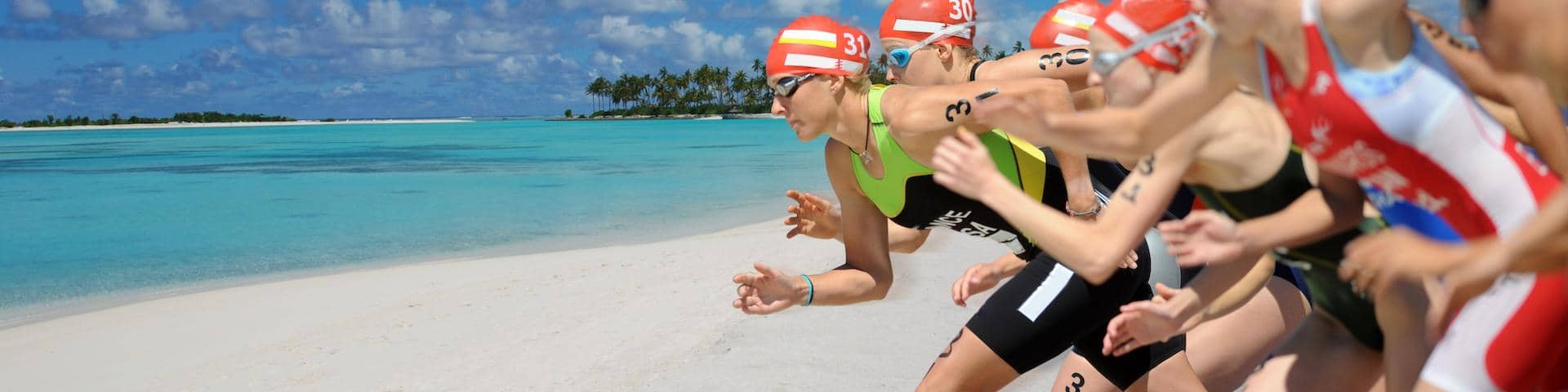 Special Product Triathlon Beach Swimming Sport