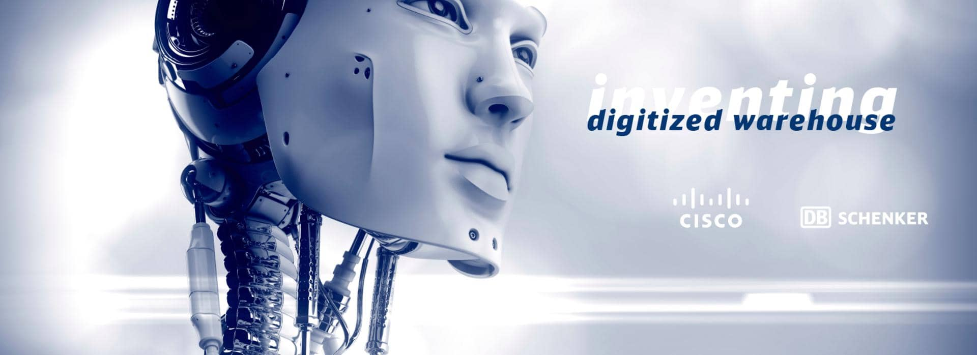 Cisco Human robot digitized warehouse