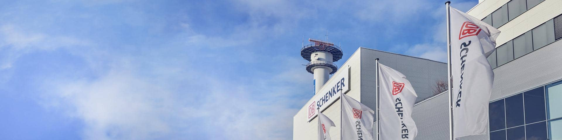 Airport DB Schenker Flags