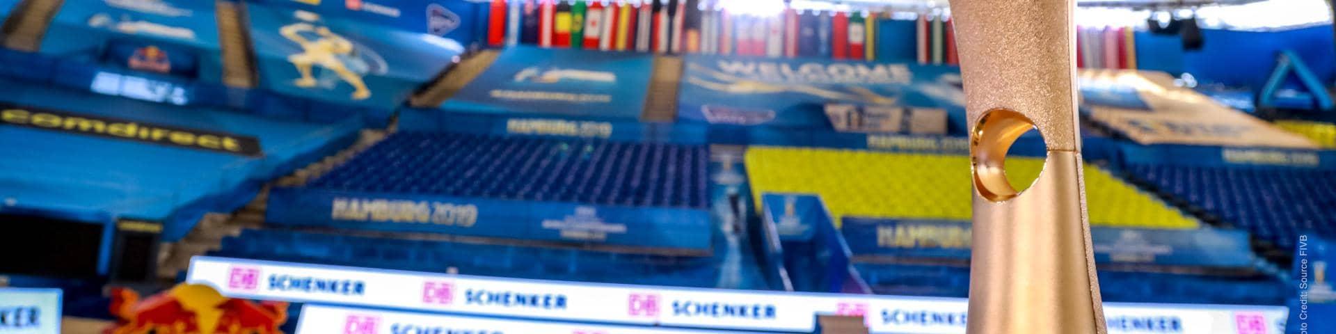 DB Schenker and FIBV Beachvolleyball Serie