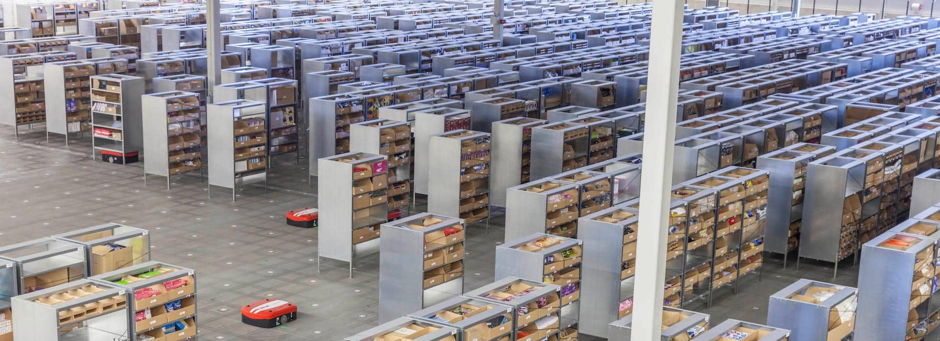 DB Schenker Media Markt warehouse stage
