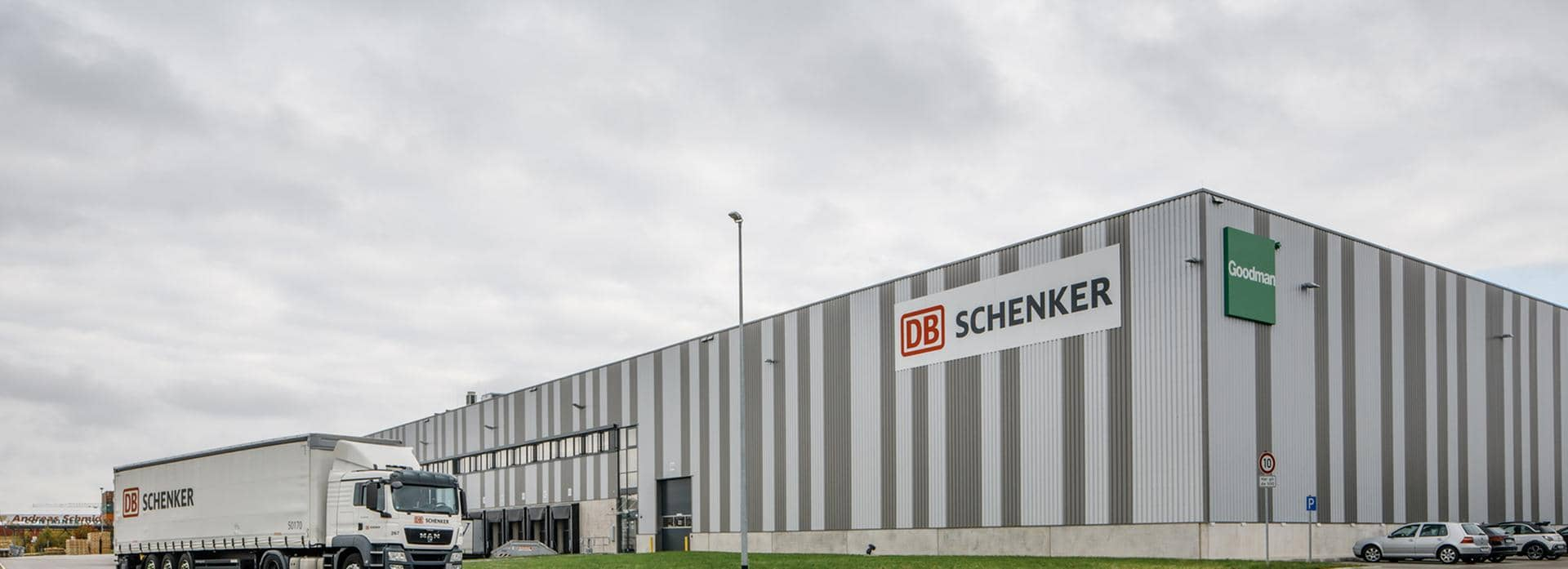 DB Schenker Logistics Center in Augsburg Germany
