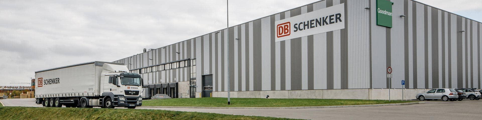DB Schenker Logistics Center in Augsburg Germany