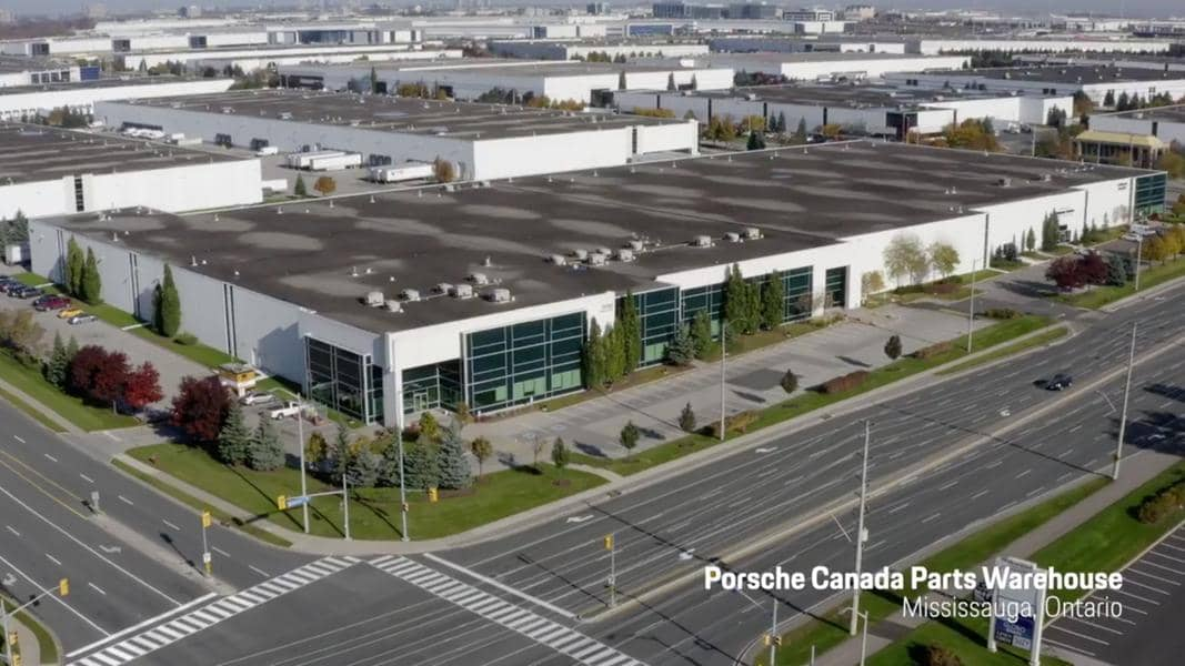 DB Schenker and Porsche open new Warehouse in Canada