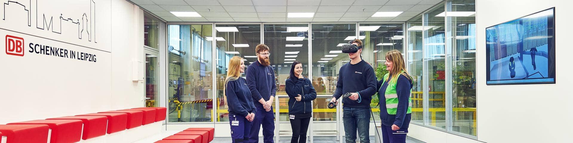 DB Schenker in Leipzig VR Movie