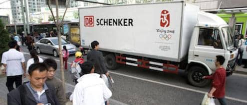 Schenker in China Truck Olympics